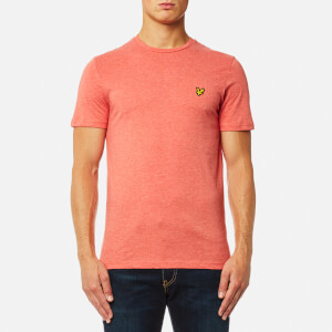 Lyle & Scott Men's Crew Neck T-Shirt - Terracotta Marl