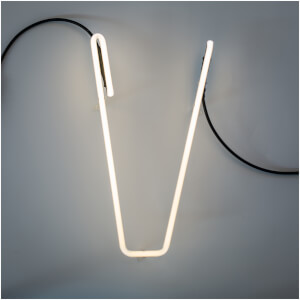 Seletti Alphafont Neon Letter - 35cm - V