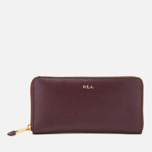 Lauren Ralph Lauren Women's Tate Zip Wallet - Port