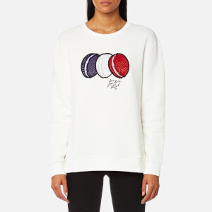 Karl Lagerfeld Women's French Macarons Sweatshirt - Off White