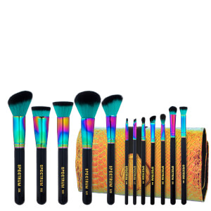 Spectrum Collections 12 Piece Siren Brush Set and Roll