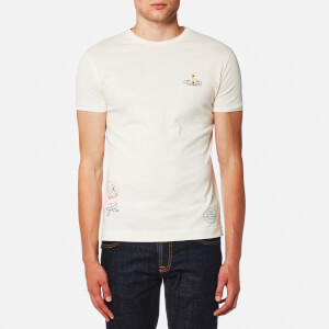 Vivienne Westwood MAN Men's Organic Jersey Peru Puppet T-Shirt - Off White