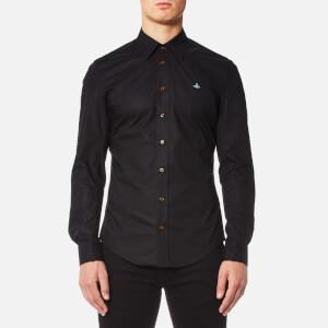 Vivienne Westwood MAN Men's Stretch Poplin Classic Shirt - Black