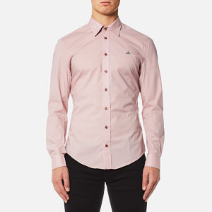 Vivienne Westwood MAN Men's Stretch Poplin Classic Shirt - Pink