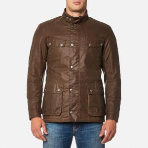 Barbour International Men's Duke Wax Jacket - Bark