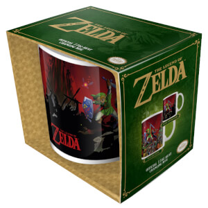 The Legend of Zelda Heat Change Mug (Battle)