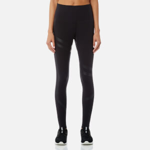 Reebok Women's Linear High Rise Tights - Black