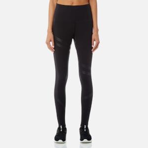 Reebok Women's Linear High Rise Tights - Black