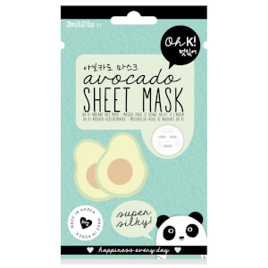 Тканевая маска для лица с экстрактом авокадо Oh K! Avocado Sheet Mask 23 мл
