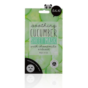 Oh K! Cucumber Sheet Mask(Oh K! 큐컴버 시트 마스크 23ml)