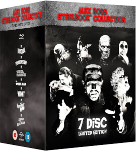 Universal Classic Monsters: Alex Ross Collection - Steelbook Edition