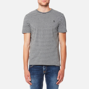 Polo Ralph Lauren Men's Stripe T-Shirt - Boulder Grey Heather