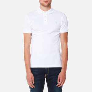 Polo Ralph Lauren Men's Stretch Mesh Polo Shirt - White