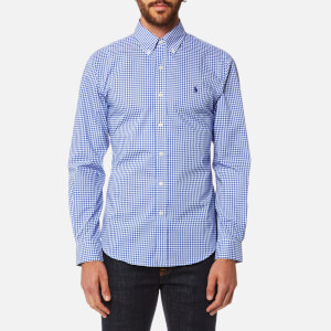Polo Ralph Lauren Men's Slim Fit Easy Care Shirt - Blue Check