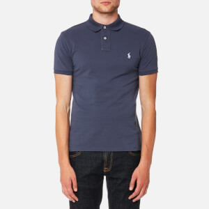 Polo Ralph Lauren Men's Slim Fit Mesh Polo Shirt - Boston Navy