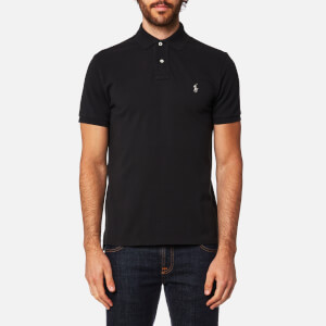 Polo Ralph Lauren Men's Slim Fit Polo Shirt - Black