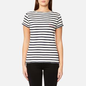 Maison Labiche Women's Mariniere Bonjour T-Shirt - Stripe