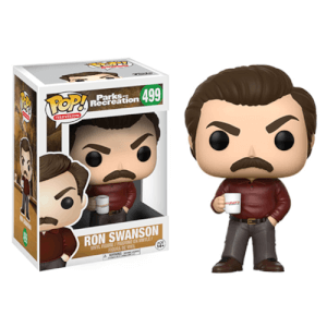 Figura Pop! Vinyl Ron Swanson - Parks and Recreation