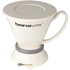 Bonavita BV4000IDV Wide Base Porcelain Coffee Immersion Dripper - White