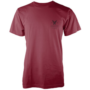 Native Shore Men's Surfs Up Pocket Print T-Shirt - Burgundy
