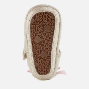 UGG Babies' Jesse Bow II Metallic Pre-Walker Boots - Gold: Image 5