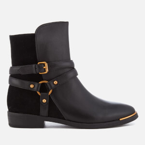 UGG Women's Kelby Leather Ankle Boots - Black