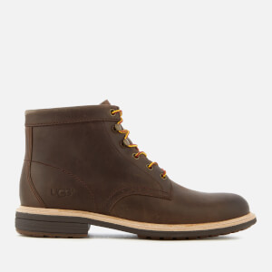 UGG Men's Vestmar Leather Lace Up Boots - Grizzly