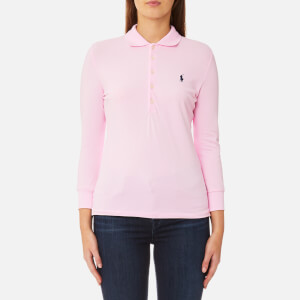 Polo Ralph Lauren Women's 3/4 Length Julie Long Sleeve Top - Pale Pink