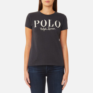 Polo Ralph Lauren Women's Polo Logo T-Shirt - Grey