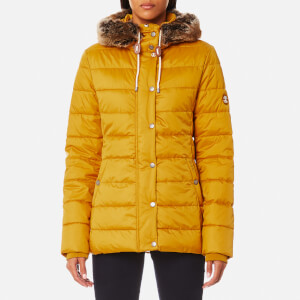 Barbour Women's Shipper Quilt Coat - Harvest Gold