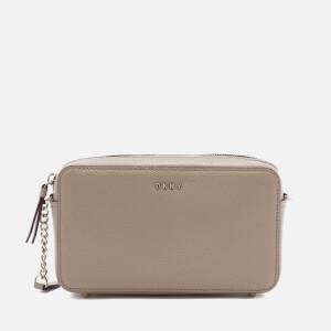 DKNY Women's Chelsea Pebbled Small Leather Top Zip Cross Body Bag - Buff
