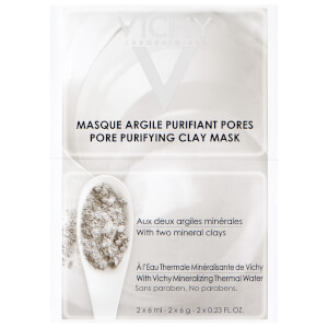 Vichy set di due maschere argilla purificanti 2 x 6 ml