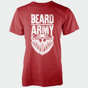 Beard Army Men's Red Insignia T-Shirt
