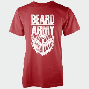 Beard Army Men's Red Insignia T-Shirt