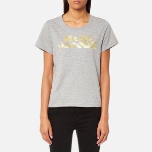 Marc Jacobs Women's Classic T-Shirt - Grey Melange