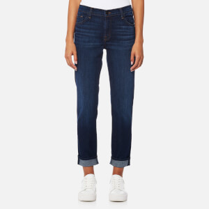 J Brand Women's Johnny Mid Rise Boy Fit Jeans - Cult