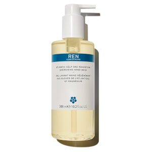 Gel de manos energizante Atlantic Kelp and Magnesium de REN Skincare (300 ml)