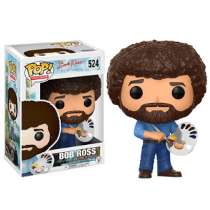 Bob Ross Pop! Vinyl Figur