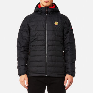 Columbia Men's Manchester United Powder Lite Hooded Jacket - Black