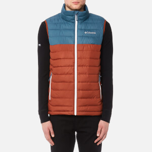 Columbia Men's Powder Lite Vest - Rusty/Blue Heron/White