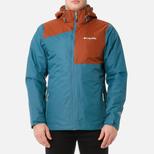 Columbia Men's Aravis Explorer Interchange Jacket - Blue Heron/Rusty