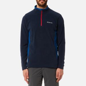Columbia Men's Klamath Range 2 Half Zip Fleece - Collegiate Navy/Marine Blue