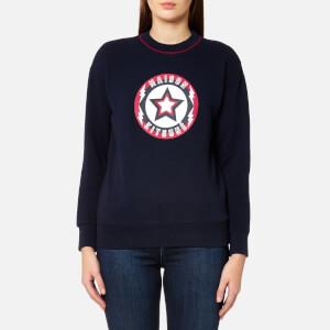 Maison Kitsuné Women's Super Maison Kitsuné Sweatshirt - Navy