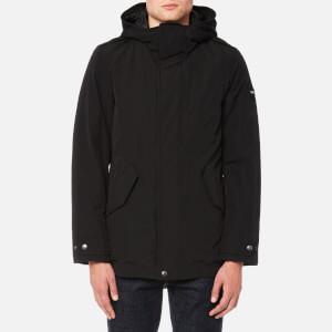 Woolrich Men's Long Military Eskimo Jacket - Black