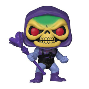 Masters of the Universe - Skeletor con Armatura Danneggiata Figura Pop! Vinyl