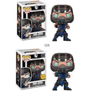 Mortal Kombat Subzero Pop! Vinyl Figure with Chase: Image 2