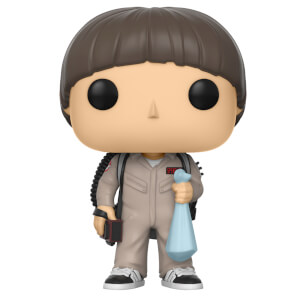 Stranger Things Ghostbusters Will Pop! Vinyl Figur