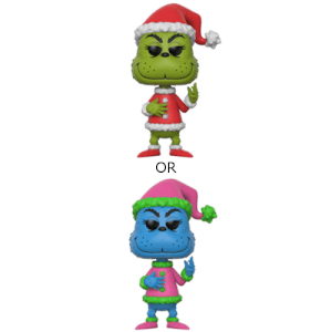 The Grinch Santa Grinch Pop! Vinyl Figure with Chase