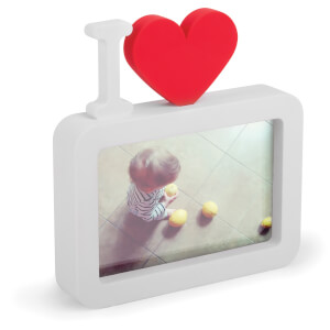 "Umbra U Love Photo Frame - 4"" x 6"" - White"