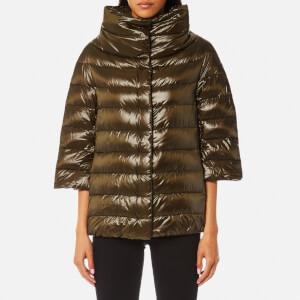 Herno Women's Woven Jacket - Verde Oliva